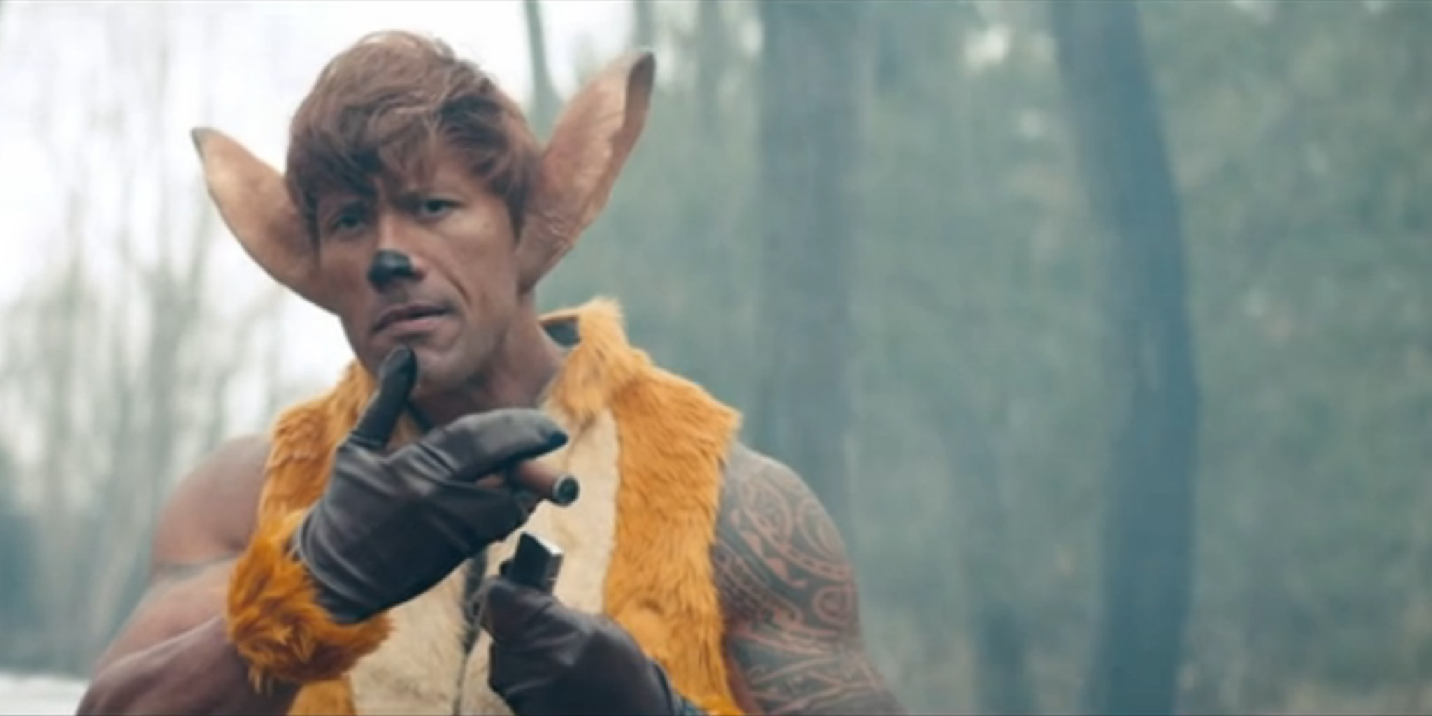 The Rock Stars As A Revenge Hungry Bambi In This New