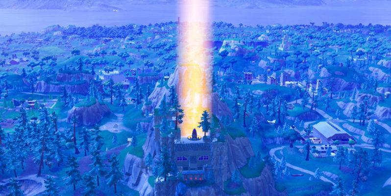 fortnite rocket launch