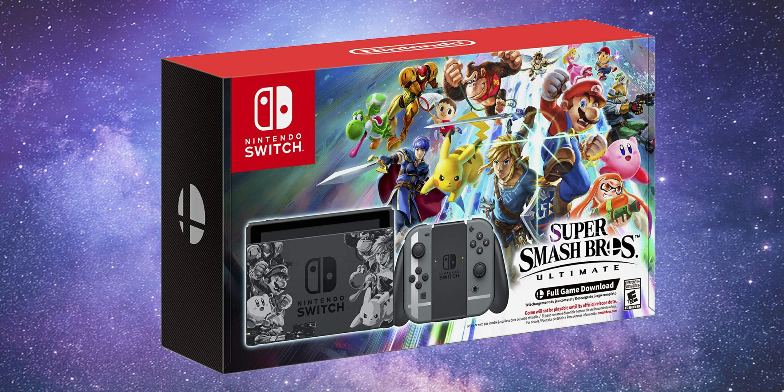 Smash Bros Switch Bundle Lets New Fans Jump On The