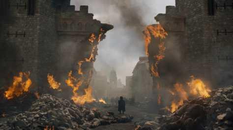 Image result for Kings Landing on Fire