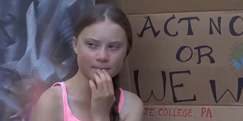 Conservatives Troll Thunberg Climate Activist Attracks Haters On