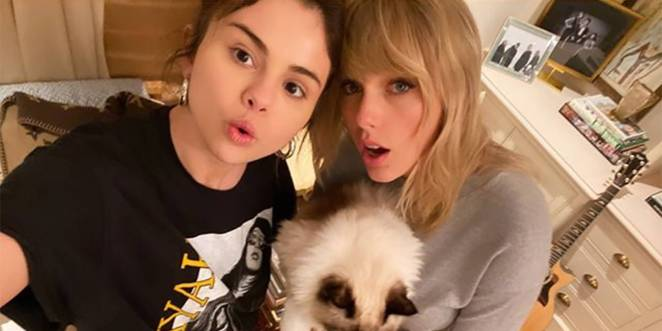 Image result for taylor swift and selena gomez