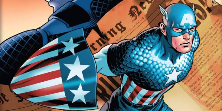 Image result for captain america comics