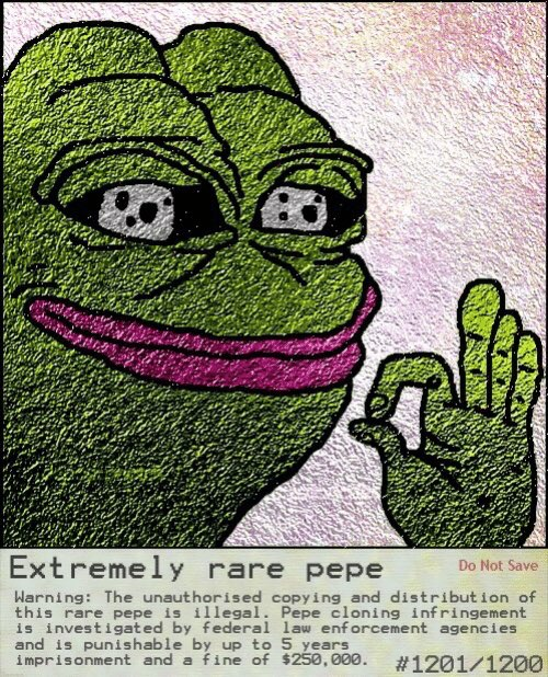 The Rare Pepe Economy Is Real And It S Suddenly Booming