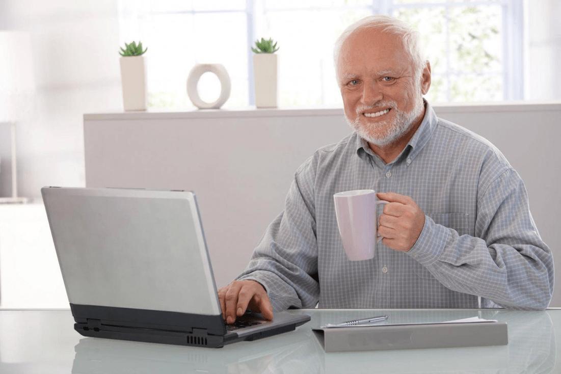 25 Best Memes About Hide Your Pain Harold Meme Hide Your
