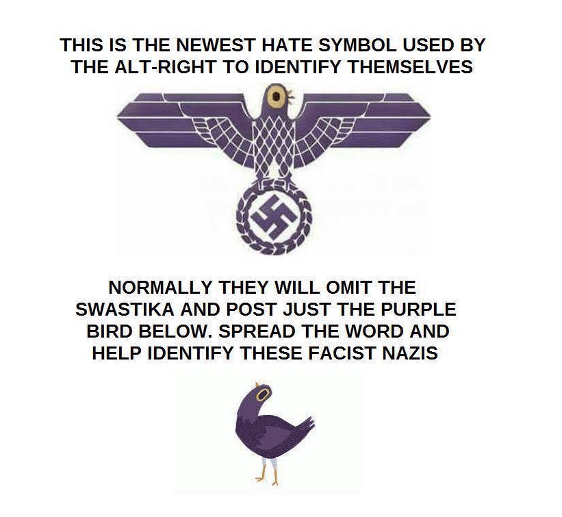 Is Trash Dove Really A New Nazi Hate Symbol