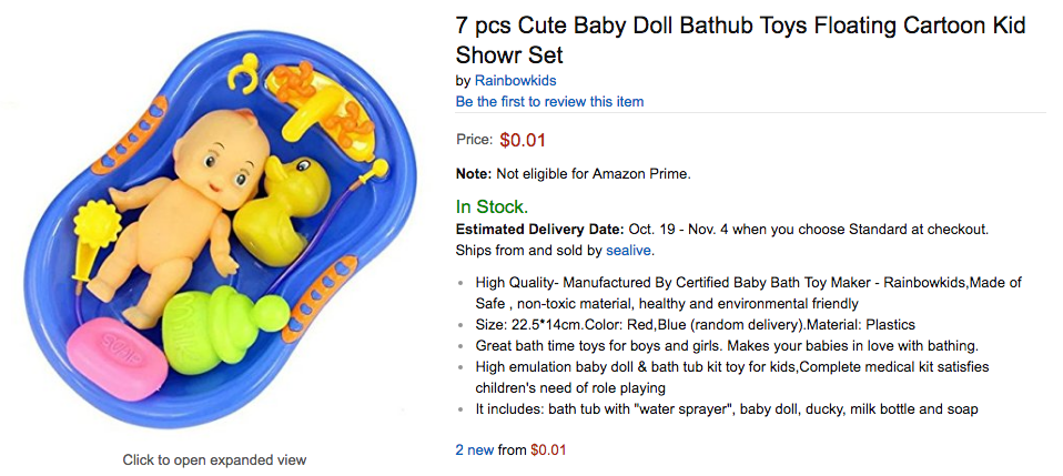 9 Things You Can Buy On Amazon For 1 Cent