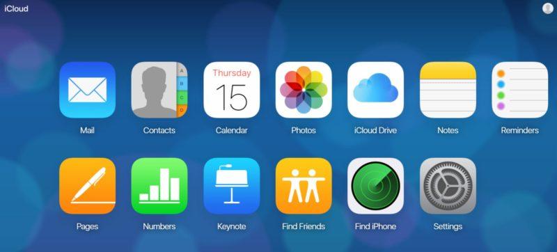 Cómo acceder a iCloud en macOS