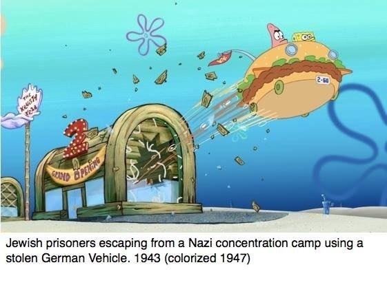 Spongebob History Is The Popular Edgy New Sponge Meme