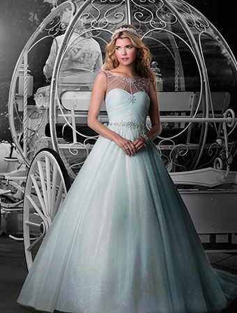 Look Like A Disney Princess On Your Wedding Day With These
