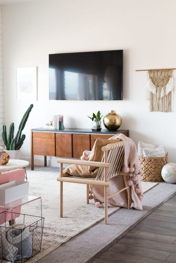 6 Boho Living Room Spaces That Will Wow You This Fall