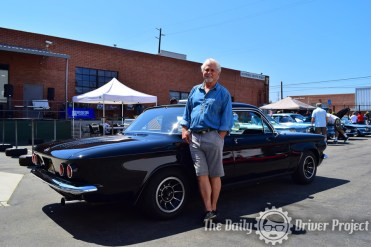 Tony Dow with his Corvair