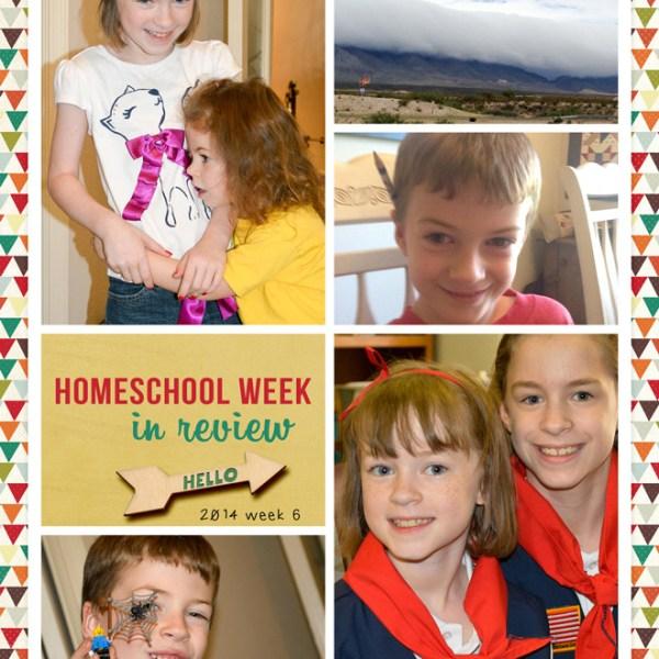 Homeschool Week in Review 2014 Week 6