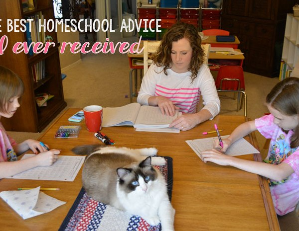 The Best Homeschool Advice I Ever Received