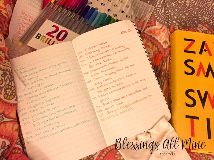 Blessings All Mine #669-715