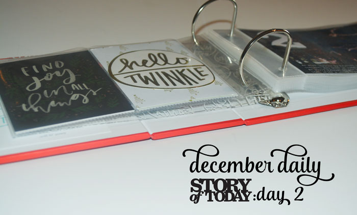 december-daily-day-2