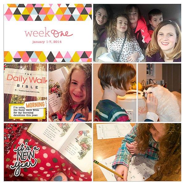 Digital Project Life 2017 Week 1