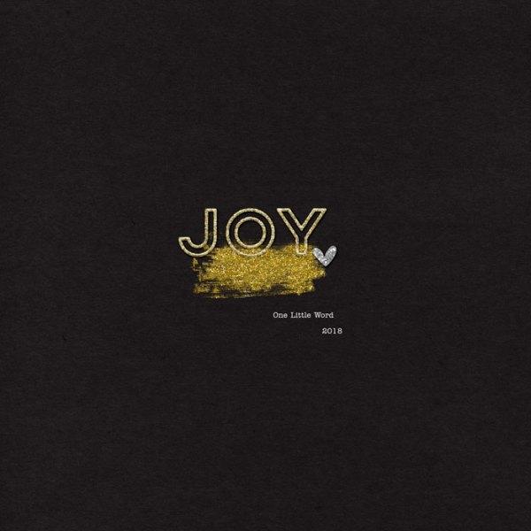 One Little Word 2018 | Joy