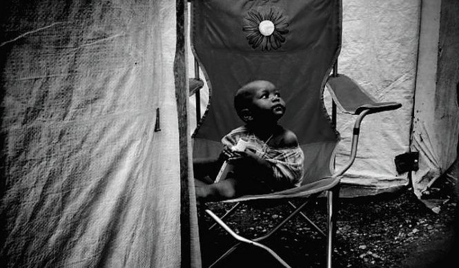 Tent camp in Port-au-Prince, Haiti (2011)