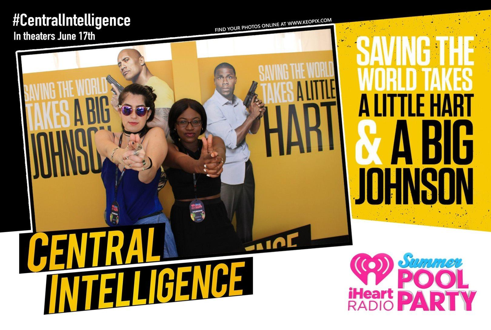 iheartradio summer pool party 2016, iheartradio summer pool party, central intelligence