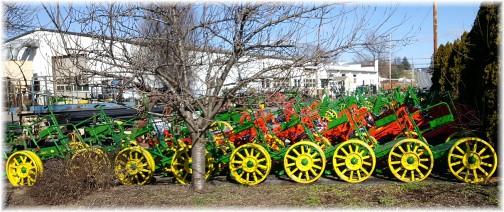 Amish farm equipment near White Horse, PA 3/2/16
