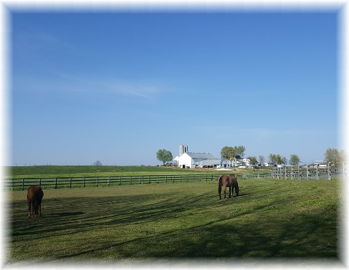 Amish farm near Spooky Nook 4/17/16 (Click to enlarge)
