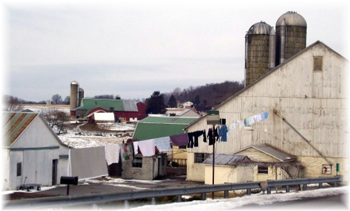 Amish farm in southern Lancaster County
