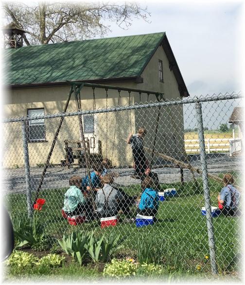 Amish school lunch near New Holland, PA 4/27/17