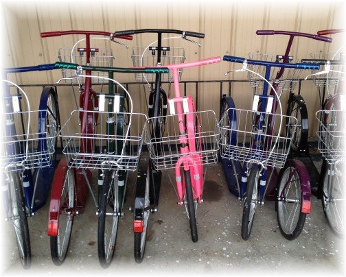 New Amish scooters 1/21/15