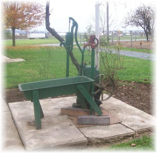 Old order water pump