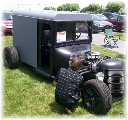 Souped up buggy at Intercourse Heritage Days 2011