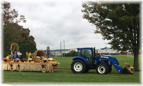 Display at New Holland Farm Equipment 10/12/17 (Click to enlarge)