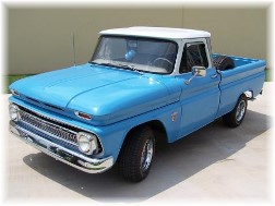 65 Chevy pickup truck