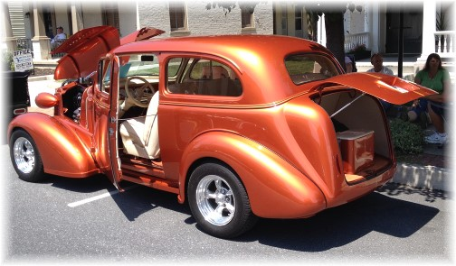 Mount Joy car show 7/25/15