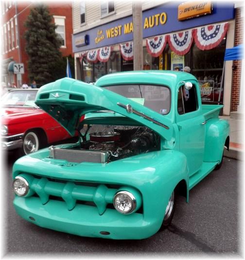Mount Joy car show 7/27/13
