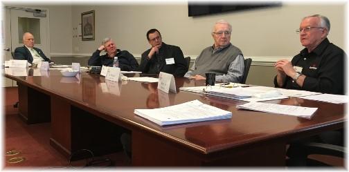 Convene panel discussion 3/17/16