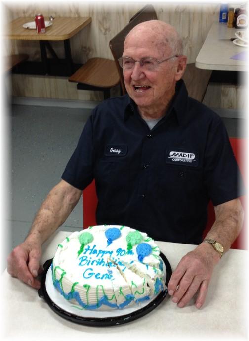 Gene at Mac-It 90th birthday!