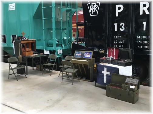 John Uhler display at Pennsylvania Railroad Museum 11/5/17