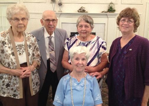 Patty's four friends 5/25/14