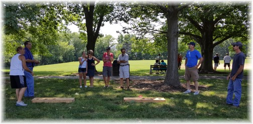 Nyube family & Jake and Nancy Shenk 6/26/16