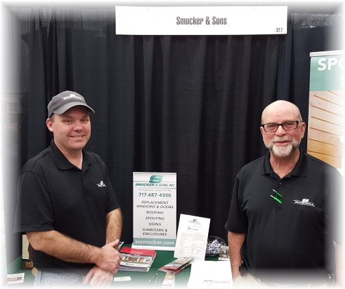 Smucker sales team at Home Show 3/18/16