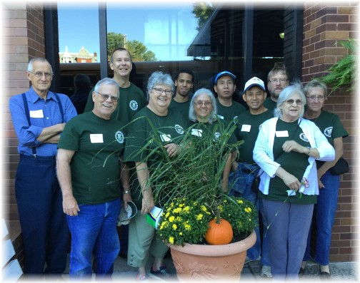 Val-Co stewardship Day 9/15/15