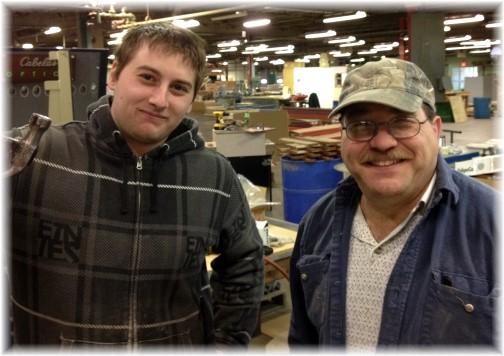 Cody and Tim at White Oak 2/27/14