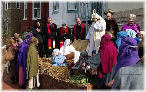 Supreme Court Nativity scene (Lee Smucker)