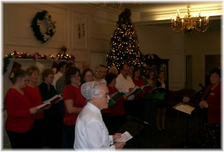 2009 Christmas Choir at Longwood Manor