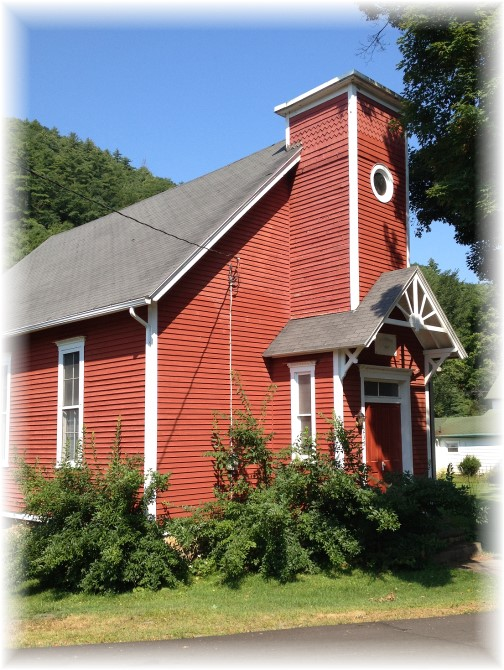 Red Church in Blackwell, PA