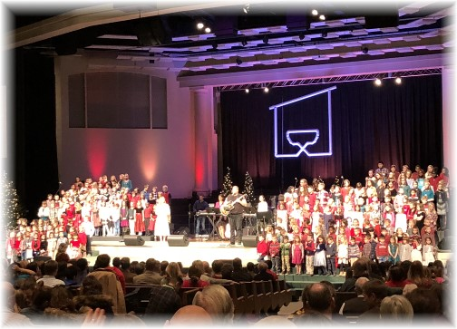 Calvary Church children's choir 12/10/17