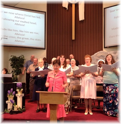 Easter choir 2015