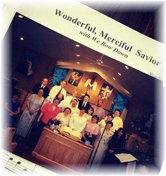 Church choir Taunton (late 90's)