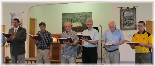 "Men's chorus singing ""I Am A Man"" 6/19/11"